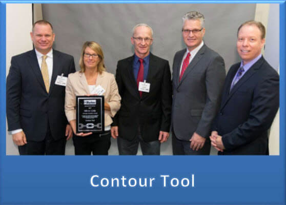Contour Tool wins the Parker Hannifin HVD Silver Link Strategic Supplier Award!
